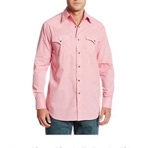Pendleton Pink Frontier Shirt Long Sleeves L